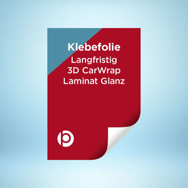 Klebefolie Langfristig 3D CarWrap Laminat Glanz