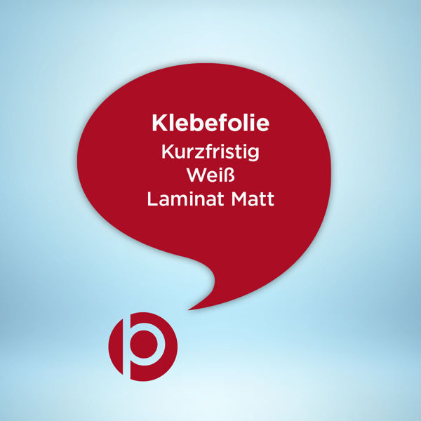 Klebefolie Kurzfristig Weiß Laminat Matt Freier Konturschnit