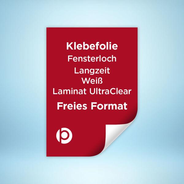 Fensterlochfolie Langzeit Laminat Ultra Clear